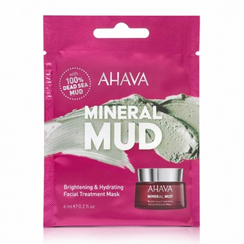 Ahava Brightening & Hydrating Facial Treatment Mask 6ml (Ενυδατική Μάσκα Προσώπου)