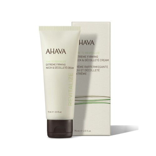 Ahava Time To Revitalize Extreme Firming Neck & Décolleté Cream 75ml (Αντιρυτιδική Κρέμα Λαιμού & Ντεκολτέ)