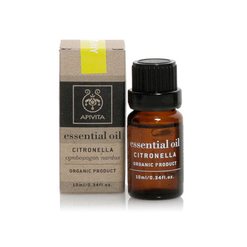 Apivita (Αιθέριο Έλαιο) Essential Oil Citronella 10ml