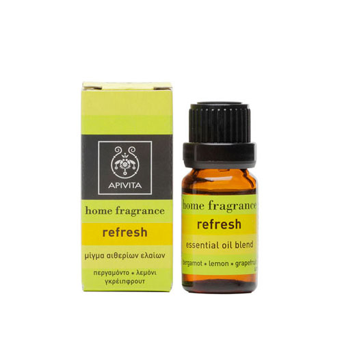 Apivita Essential Oil Refresh 10ml (Αιθέριο Έλαιο Refresh)