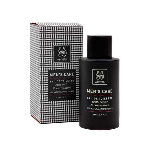 Apivita Mens Care Eau De Toilette Κέδρο & Κάρδαμο 100ml
