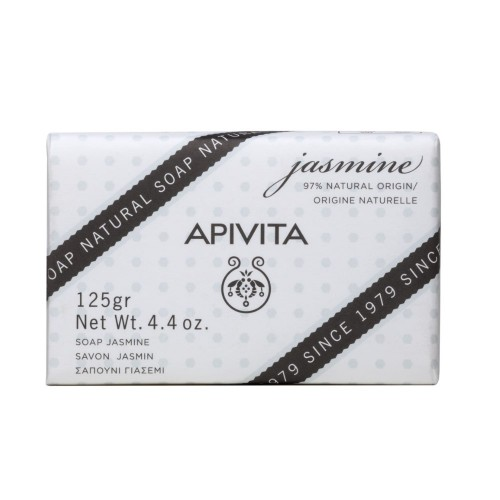 Apivita Natural Soap with Jasmine 125gr (Σαπούνι με Γιασεμί)
