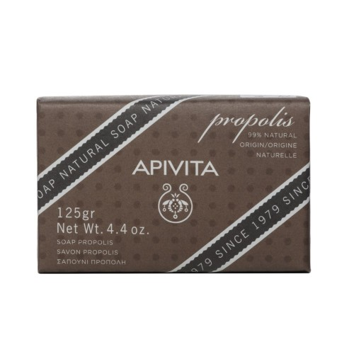 Apivita Natural Soap with Propolis & Thyme 125gr (Σαπούνι με Πρόπολη)