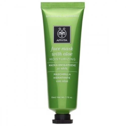 Apivita Face Mask Aloe (Μάσκα με Αλόη) 50ml
