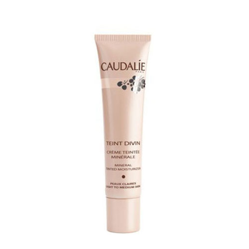 Caudalie Teint Divin Mineral Tinted Light 30ml (Κρέμα Μαυρίσματος)