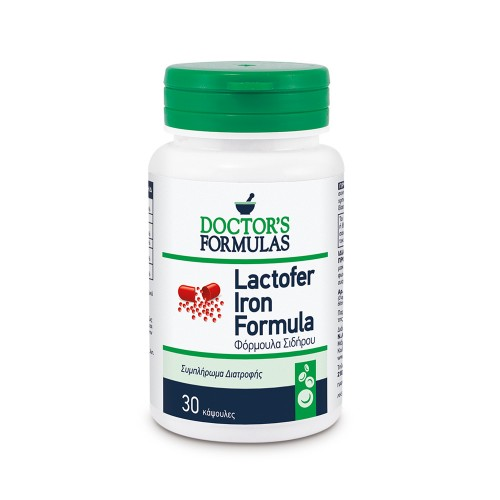 Doctors Formula Lactofer Iron Formula 30caps (Φόρμουλα Σιδήρου)
