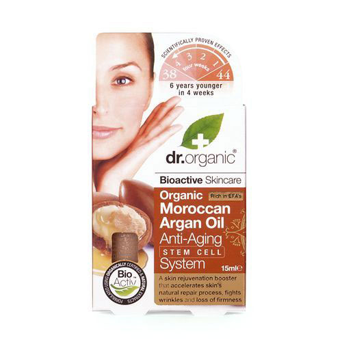 Dr.Organic Argan Oil Anti Aging Stem Cell System 30ml
