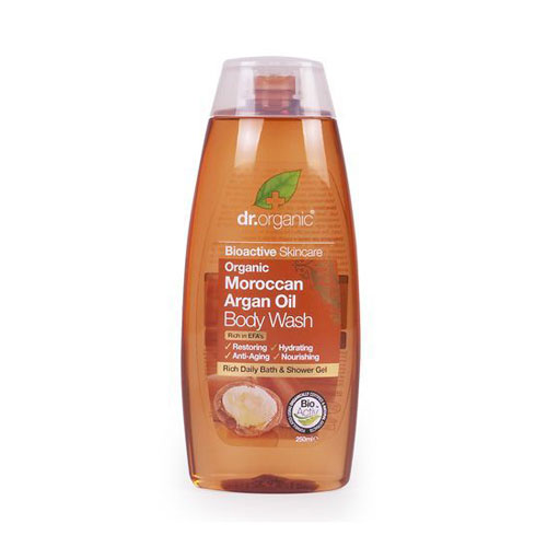 Dr.Organic Argan Oil Body Wash 250ml