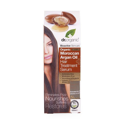 Dr.Organic Argan Oil Hair Treatment Serum 100ml (Έλαιο Μαλλιών Αργκάν)