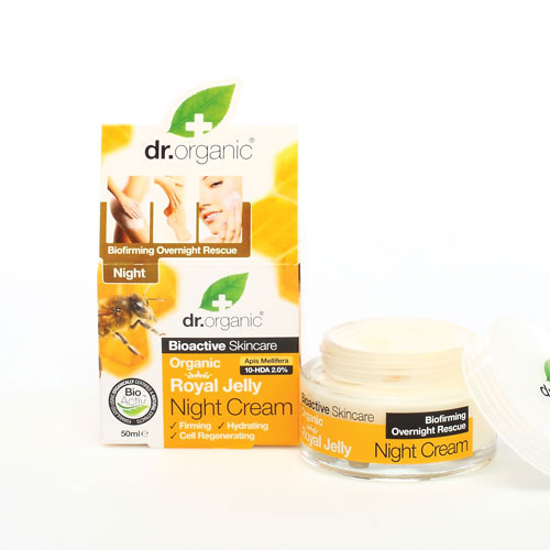 Dr.Organic Royal Jelly Night Cream 50ml (Κρέμα Νύχτας)