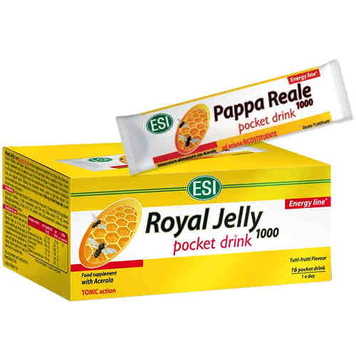 Esi Royal Jelly 1000mg 16 Φιαλίδια