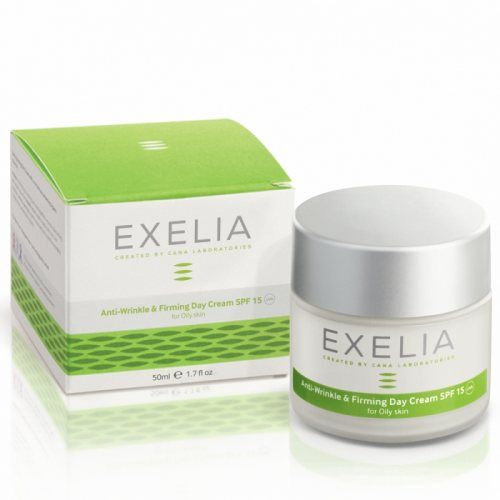 Exelia Anti-Wrinkle & Firming Day Cream SPF15 (Λιπαρό Δέρμα)