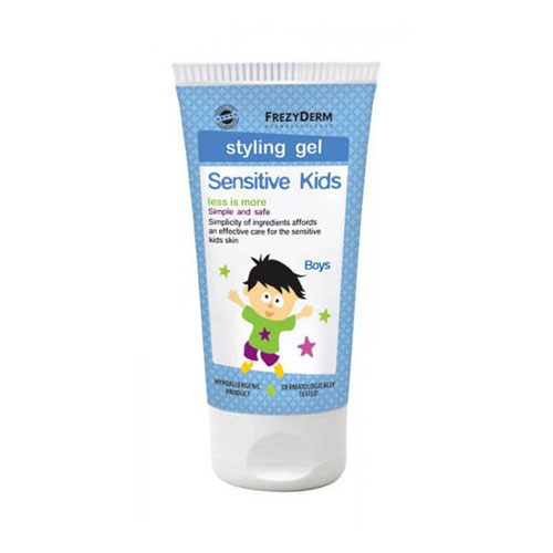 Frezyderm Sensitive Kids Hair Styling Gel (Τζελ Μαλλιών για Παιδιά) 100ml