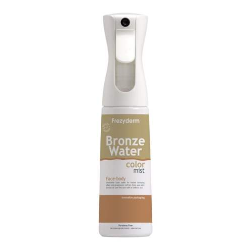 Frezyderm Sun Care Bronze Water Color Mist 300ml (Spray Mist που Χρωματίζει Bronze την Επιδερμίδα)