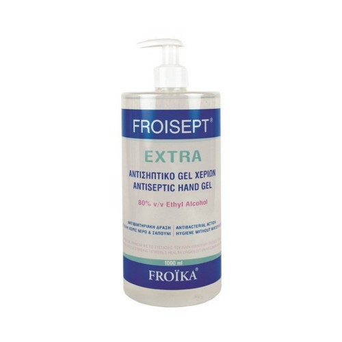 Froika Froisept Extra Antiseptic Hand Gel 1000ml (Αντισηπτικό Τζελ Χεριών με 80% Αlc)