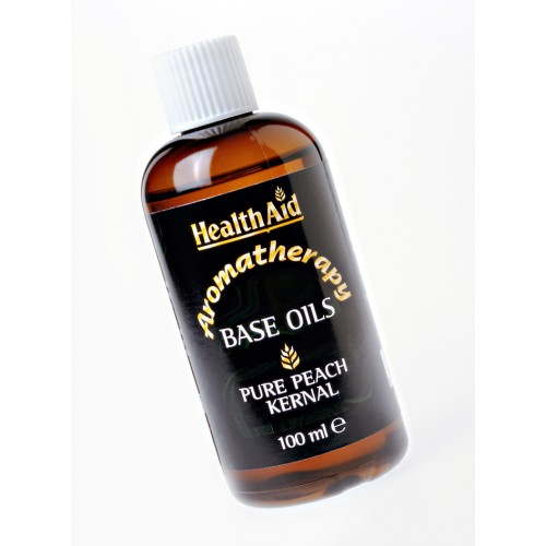 Health Aid Aromatherapy Peach Kernel Base Oil 100ml (Βερυκοκέλαιο)