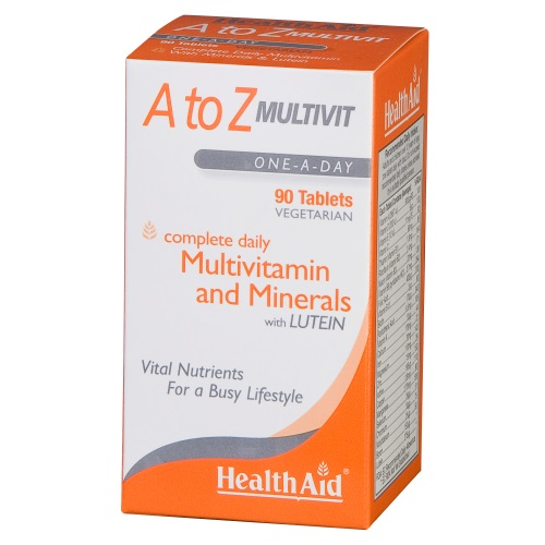 Health Aid A To Z Multivit 90tabs (Τόνωση - Ενέργεια)