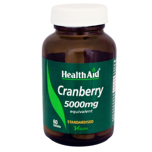 Health Aid Herbs Cranberry Extract 5000mg 60tab (Προβλήματα Ουροποιητικού)