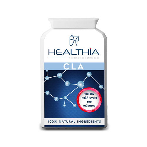 Healthia CLA 1000 90 μαλακές κάψουλες 1000mg