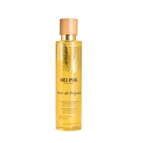 Hei Poa Tresor De Polyuesie Multi-Purpose Dry Oil 100ml (Ξηρό Λάδι Σώματος & Μαλλιών)