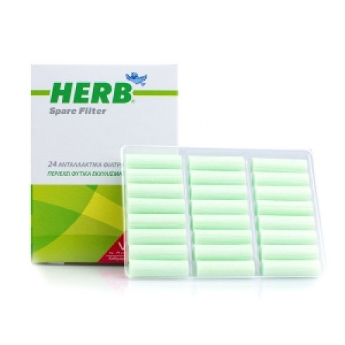 Herb Cigarette Filters 24τεμάχια