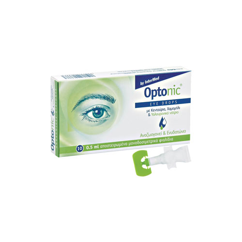 Optonic Drops 10 Ampoules x 0,5ml