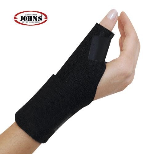John's Spika Αντίχειρα Wrap Around Black Line One Size 120217 (Small - XLarge)