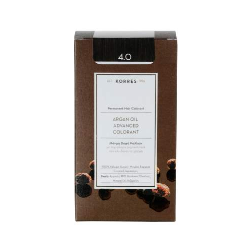 Korres Argan Color Brown 4.0 (Καστανό)