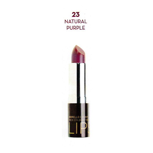 Korres Morello Creamy Lipstic No23 Natural Purple (3.5gr)