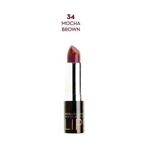 Korre Morello Creamy Lipstic No34 Mocha Brown (3.5gr)