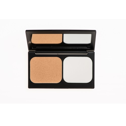 Korres Corrective Compact Foundation Activated Charcoal ACCF2 SPF 20 (Διορθωτικό Make-up Yψηλής Κάλυψης & Διάρκειας)