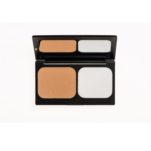 Korres Corrective Compact Foundation Activated Charcoal ACCF3 SPF 20 (Διορθωτικό Make-up Yψηλής Κάλυψης & Διάρκειας)