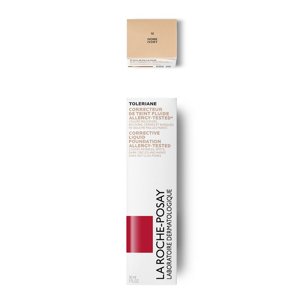 La Roche Posay Toleriane Fluide No10 Ivoire (Make-Up σε Ρευστή Μορφή - Ανοικτή Απόχρωση)