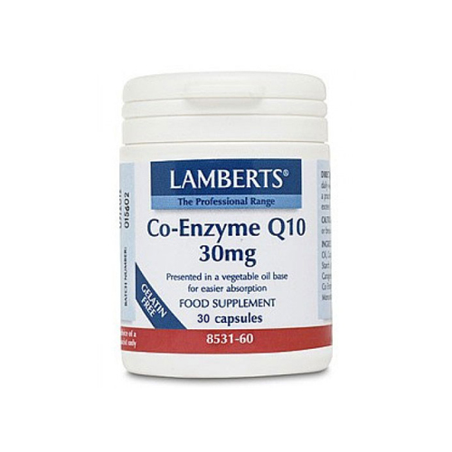 Lamberts Co-Enzyme Q10 30mg 30cap (Συνένζυμο Q10)