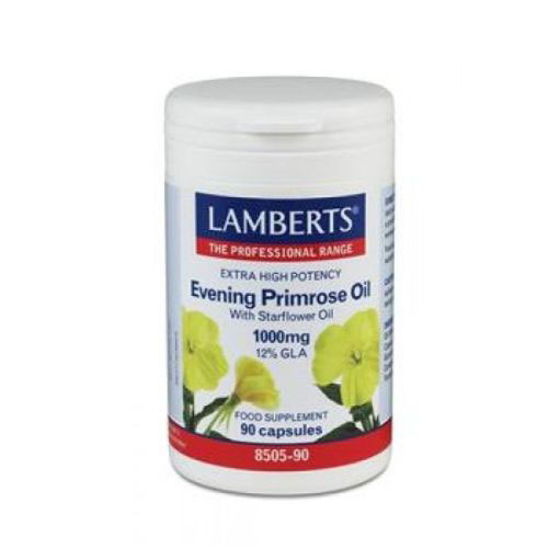 Lamberts Evening Primrose Oil With Starflower 90cap (Λιπαρά οξέα)