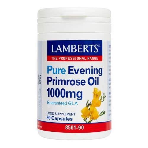 Lamberts Evening Primrose Oil 1000mg 90cap (Λιπαρά οξέα)