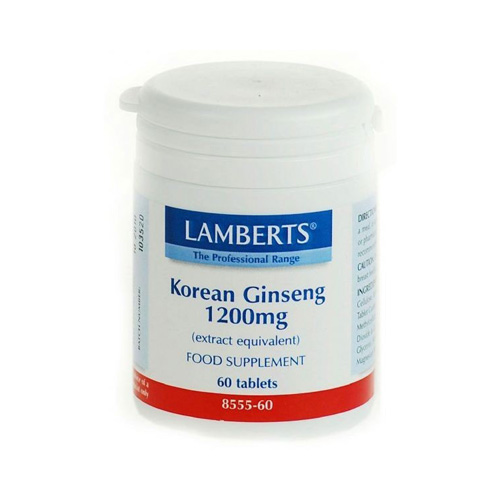 Lamberts Korean Ginseng 1200mg 60tabs (Βότανο)