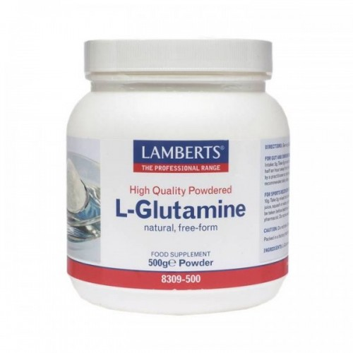 Lamberts L Glutamine Powder 500gr (Γλουταμίνη)