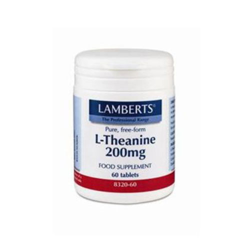 Lamberts L Theanine 200mg 60tab (Θειανίνη)