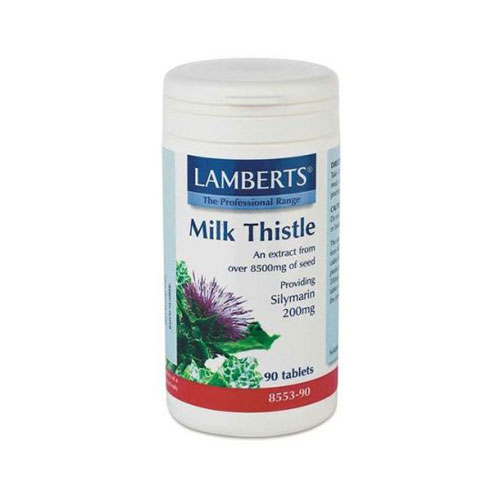Lamberts Milk Thistle 8500mg 90tab (Γαϊδουράγκαθο)