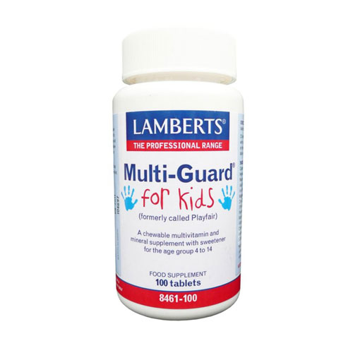 Lamberts Multi Guard For Kids 100tab (Πολυβιταμίνες)