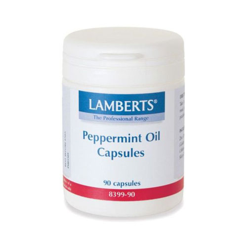 Lamberts Peppermint Oil 50mg 90cap (Έλαιο Μέντας)