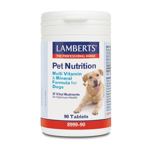 Lamberts Pet Nutrition Multi Vitamin & Mineral Formula for Dogs 90tabs (Πολυβιταμίνη για Σκύλους)