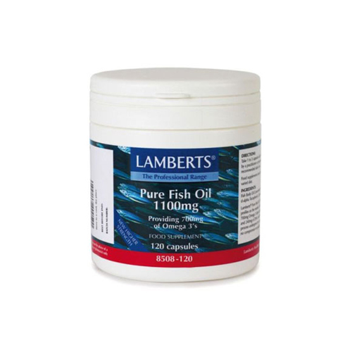 Lamberts Pure Fish Oil 1100mg 120cap (Ιχθυέλαια)