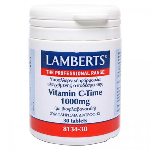 Lamberts Vitamin C 1000mg Time Release 30tab