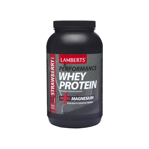 Lamberts Performance Whey Protein Strawberry 1000gr