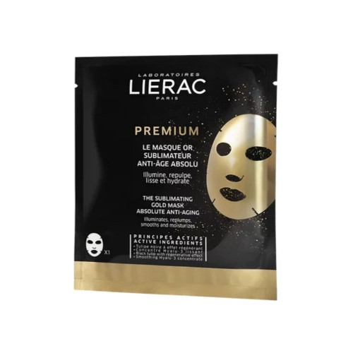 Lierac Premium The Sublimating Cold Mask Absolute Anti-Aging 1pc (Η Χρυσή Μάσκα Απόλυτης Αντιγήρανσης 1τεμ)