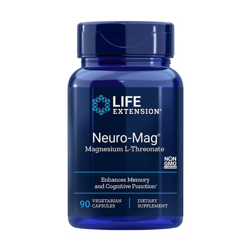 Life Extension Neuro-Mag Magnesium L-Threonate 90caps (L-Θρεονικό Μαγνήσιο)