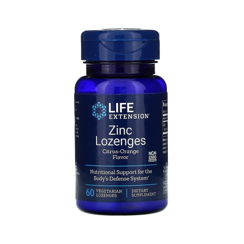 Life Extension Zinc 60 Lozenges (Ψευδάργυρος)