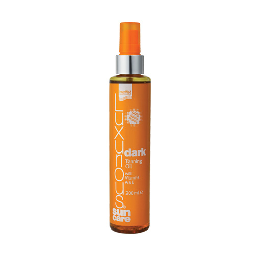 Luxurious Suncare Dark Tanning Oil με Βιταμίνες Α & Ε 200ml